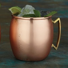 Copper Moscow Mule Mugs Satin Finish
