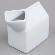 Ceramic Milk Carton Creamers 5 oz.