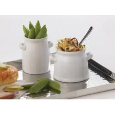 Mini Ceramic Milk Cans 4 oz