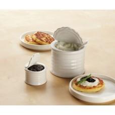 Mini Ceramic Tin Can 1 oz.