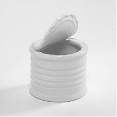 Mini Ceramic Tin Can 7 oz