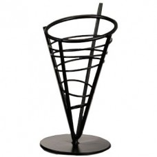 Wrought Iron Conical Baskets - FFB59