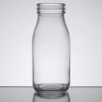 Glass Milk Bottle 16 oz.