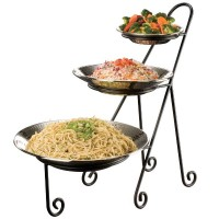 Three-Tier Display Stand for Round Bowls