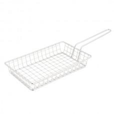 Rectangular Stainless Steel Fry Basket - MRECBSKT