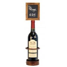 Single Bottle Wine Display