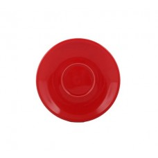 SAUCER for CAPPUCCINO 132xH20mm RED