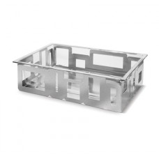 Extra Large Rectangular Stainless Steel Ice Tub With Acrylic Insert – D60077C