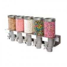 EZ-SERV® Five-Container Wall Mounted Dispenser