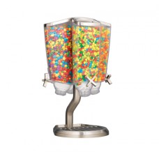 Carousel Table Top Dispenser With Stainless Steel Stand