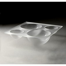 Large Frosted Four-Bowl Tray For Mod.Pod™ Buffet System – LQT1340
