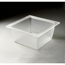Medium Frosted Deep Square Tray For Mod.Pod™ Buffet System - MDT1456