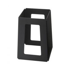 7 Inch Black Matte Finish Steel Pyramid Riser
