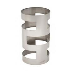 Stainless Steel Round Skycap Multi-Level Riser - SM178