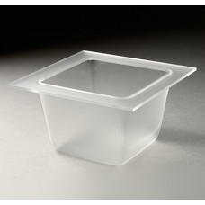 Small Frosted Deep Square Tray For Mod.Pod™ Buffet System – SST1500